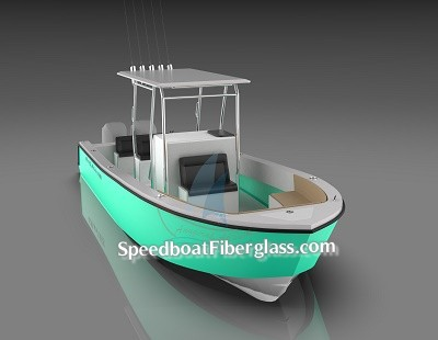 Fishing Boat Fiberglass 8-6m 10