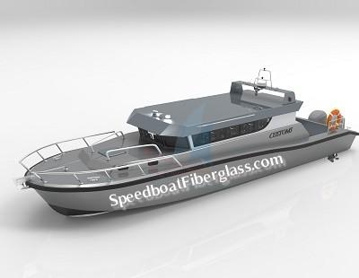Guard Boat Fiberglass 1