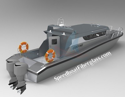 Guard Boat Fiberglass 3