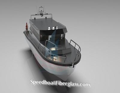 Guard Boat Fiberglass 7