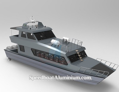 Speed Boat Aluminium
