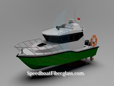 Speed Boat Patrol Fiber 1