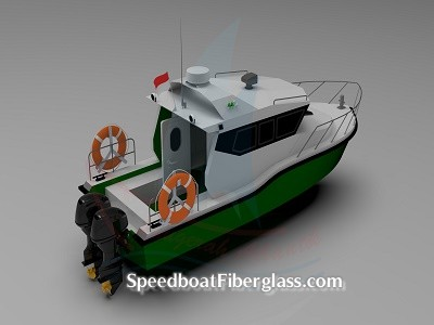 Speed Boat Patrol Fiber 2
