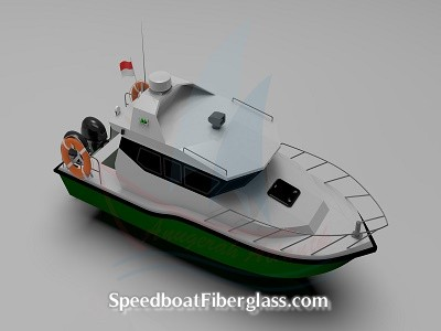 Speed Boat Patrol Fiber 3