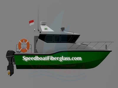 Speed Boat Patrol Fiber 6