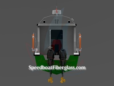 Speed Boat Patrol Fiber 7