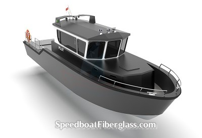 Speed Boat Pilot Boat 3